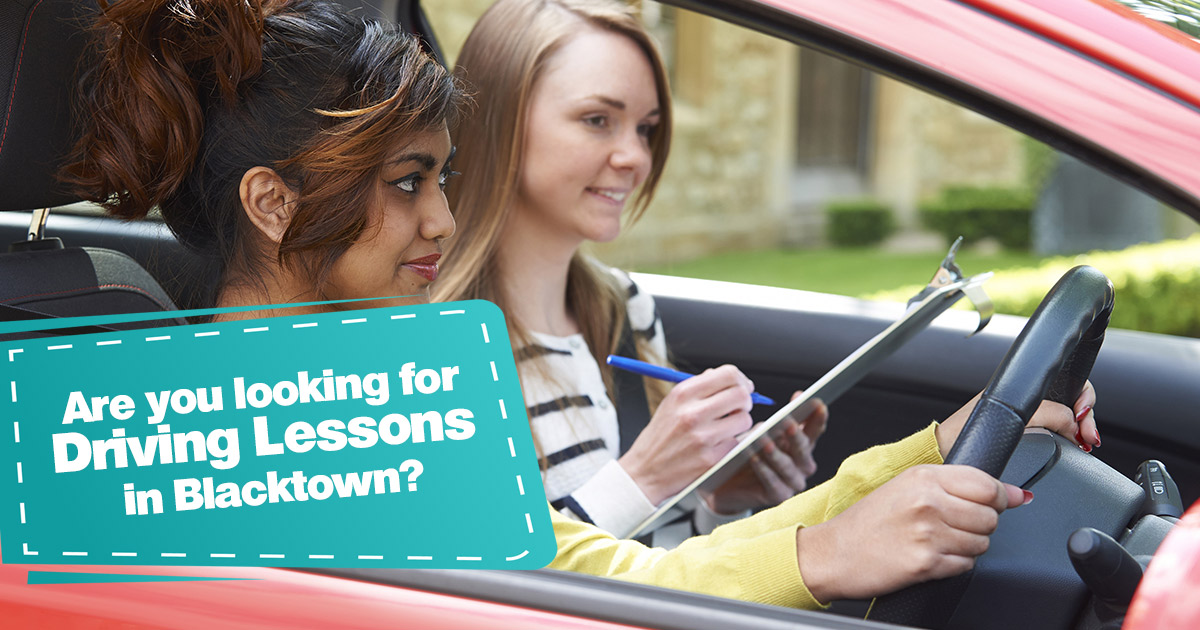 Driving lessons Blacktown